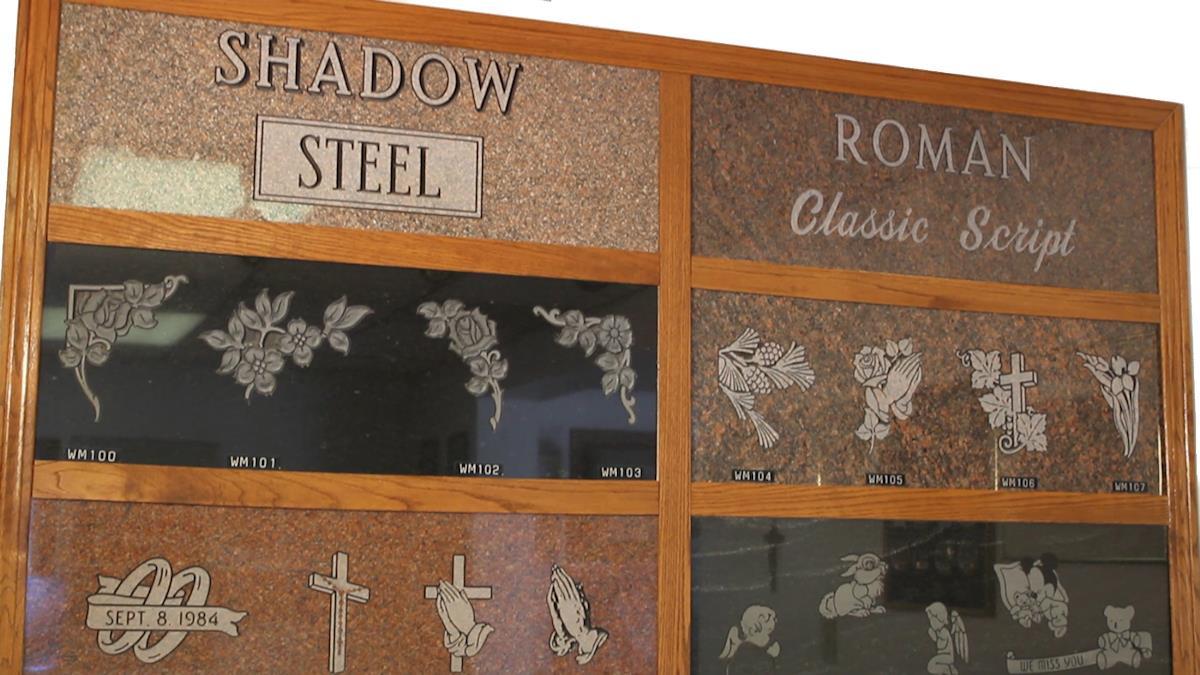 memorial engraving options